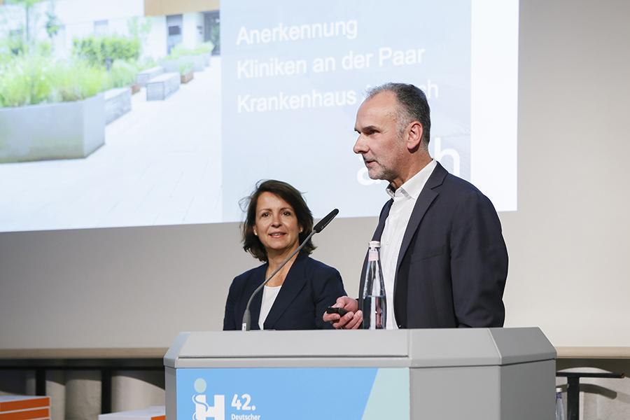Anerkennung Kliniken an der Paar, Architekten Petra Gunst und Martin Rieger