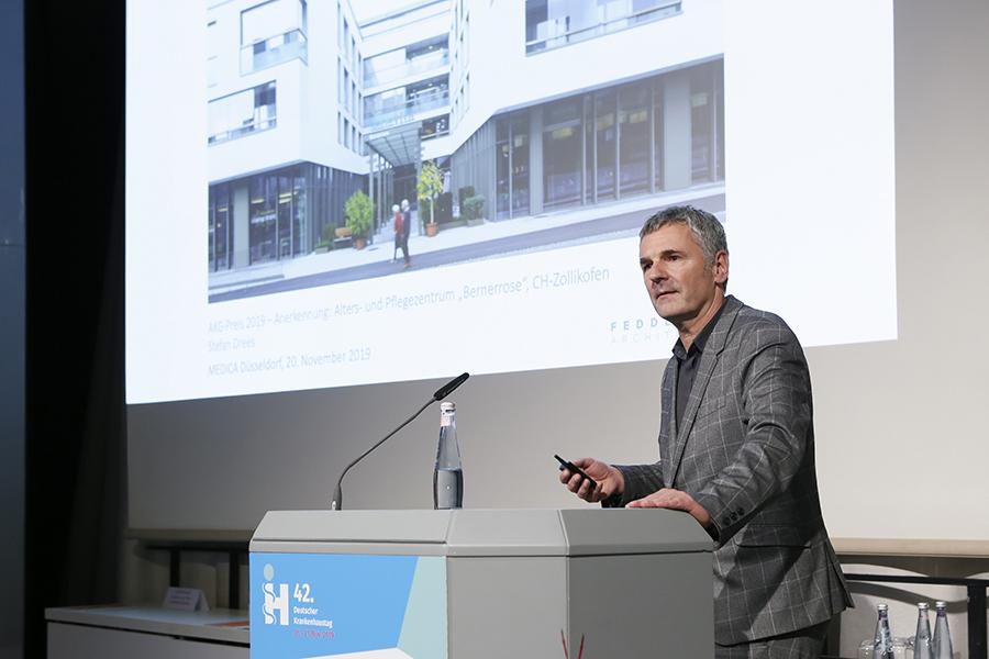 Anerkennung Alters- und Pflegezentrum Zollikofen, Architekt Stefan Drees