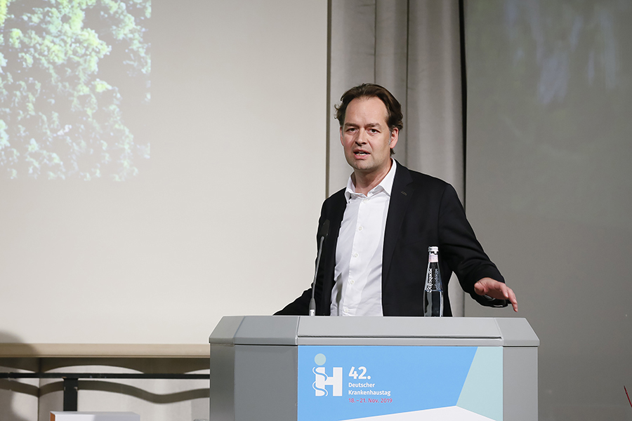 Anerkennung Universitätsklinikum Bonn (NPP), Architekt Christoph Gatermann