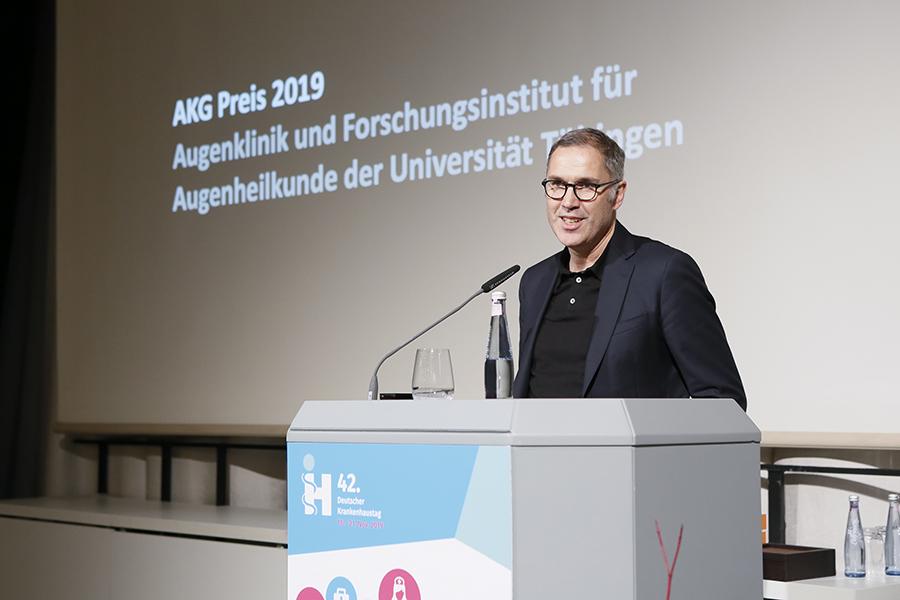 AKG Preis 2019, Augenklinik und Forschungsinstitut für Augenheilkunde der Universität Tübingen